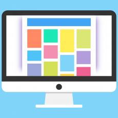 four page website design